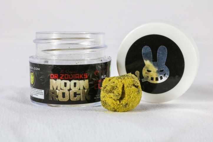 Review: Dr Zodiak's Moon Rock clear cartridge -Jack Herer (sativa